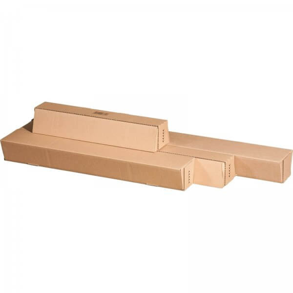 Versandhülse für DIN A0 selbstklebend 860 x 105/55 x 75 mm
