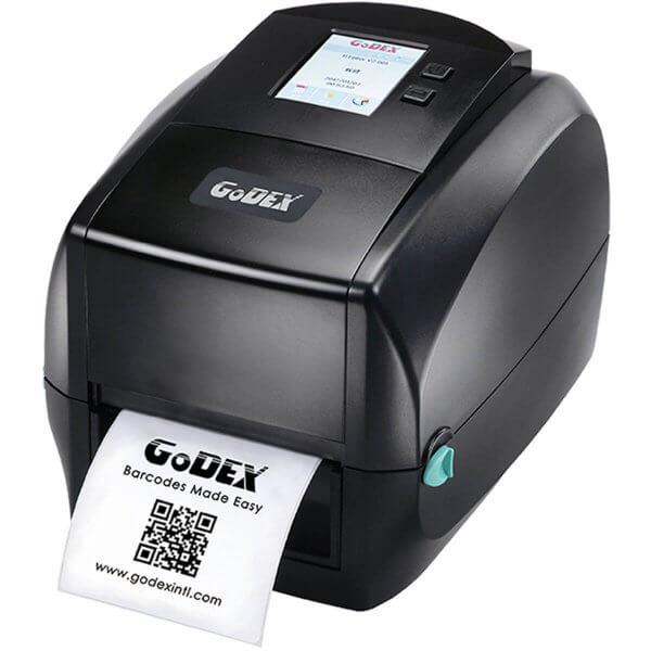 GoDEX Desktopdrucker RT860i 600 dpi USB LAN seriell Display