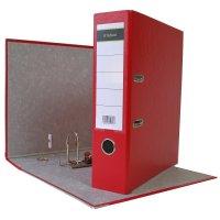 DIN A4 Aktenordner 8 cm PP Kunststoff Rot