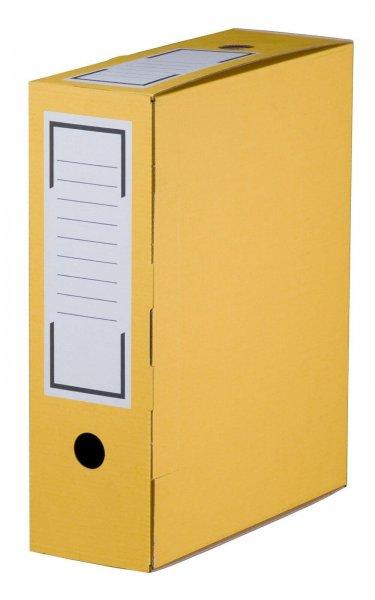 Archiv-Ablagebox 315 x 96 x 260 mm Gelb