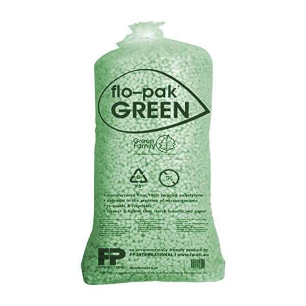 Flo-Pak Green Verpackungschips Füllmaterial