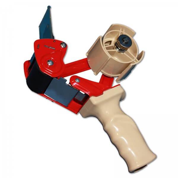 Packband-Handabroller mit Sicherheitsmesser für 50 mm breites Klebeband