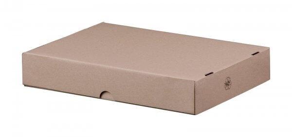 Stülpdeckelkarton 305 x 215 x 50 mm DIN A4 höhenvariable