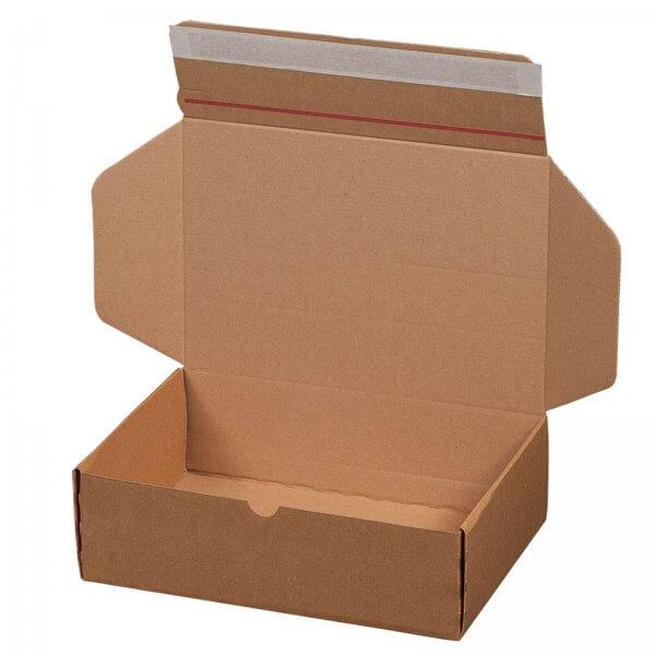 Versandkarton 305 x 210 x 91 mm mit Selbstklebeverschluss & Aufreißfaden