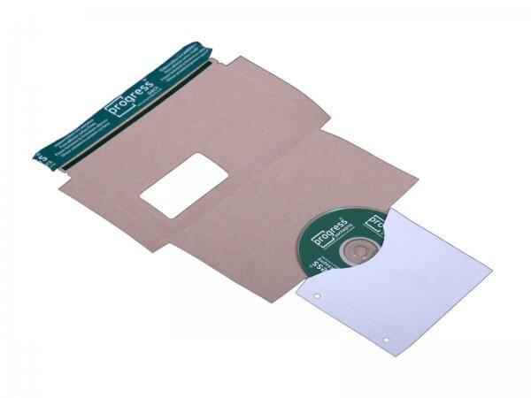 CD-Mailer 221 x 122 mm Fenster rechts