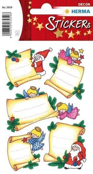 HERMA 3959 10x Sticker DECOR Weihnachtsbriefe beglimmert