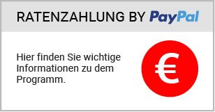 Ratenzahlung powered by Paypal | Kayoo.eu