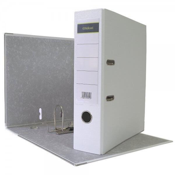 DIN A4 Aktenordner 8 cm PP Kunststoff Weiß