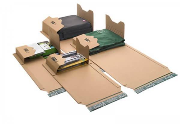 Universal-Versandverpackung 300 x 220 x - 80 mm Braun