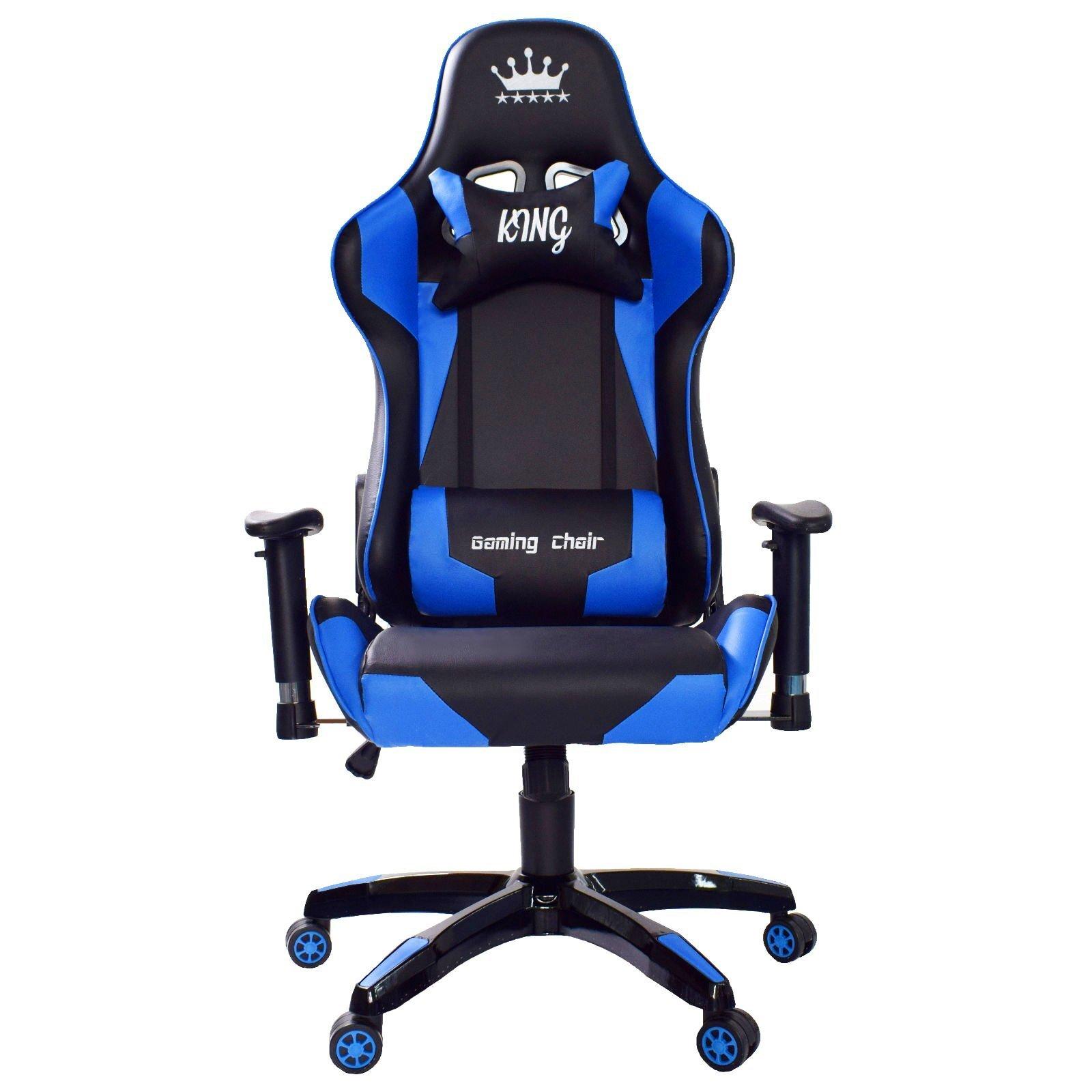 Midori Gaming Chair in schwarz blau