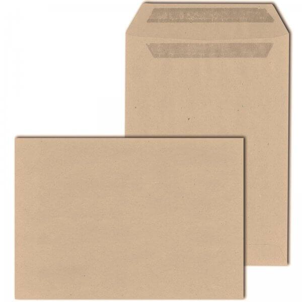 Versandtaschen DIN C5 90 g/m² Selbstklebend Braun