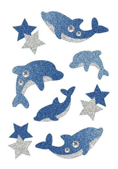 HERMA 6436 10x Sticker MAGIC Delphine Diamond Glittery