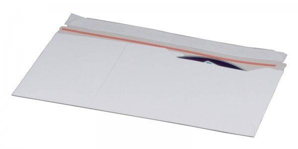 CD-Versandtasche DIN lang aus Vollpappe mit Fenster
