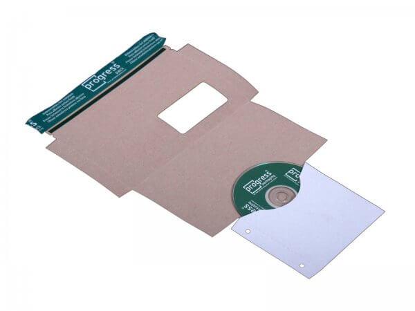 CD-Mailer 221 x 122 mm Fenster links