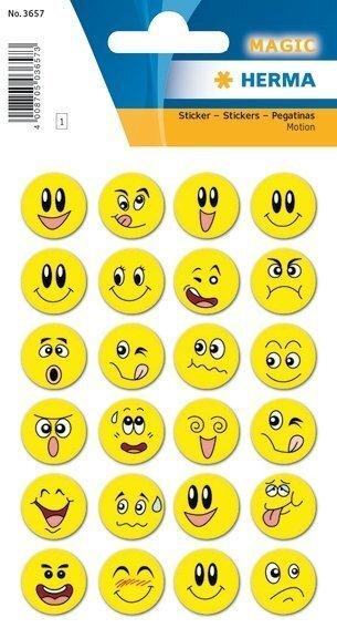 HERMA 3657 10x Sticker MAGIC Bonus10x Sticker Wackelbilder