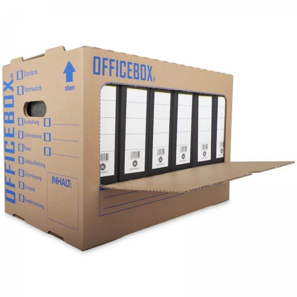 Officebox® Ordnerkarton Archivkarton (2-wellig)
