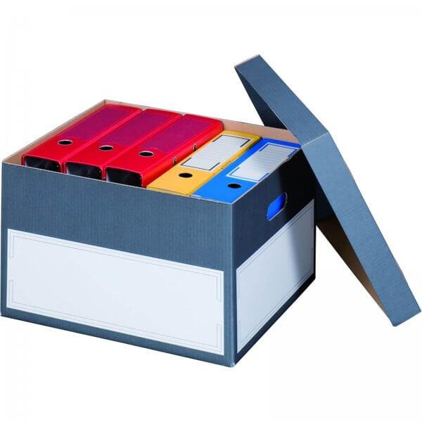 Archivcontainer für Ordner 440 x 380 x 290 mm Anthrazit