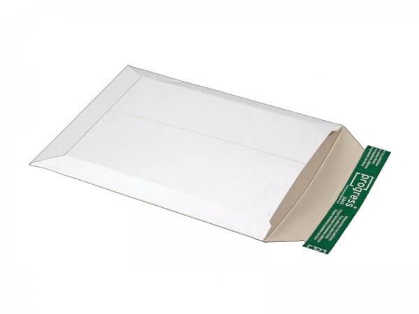 Versandtasche aus Vollpappe 315 x 240 x - 32 mm Weiß