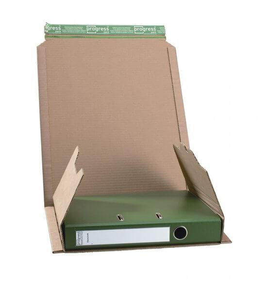 Ordner-Versandverpackung 320 x 290 x - 80 mm Braun