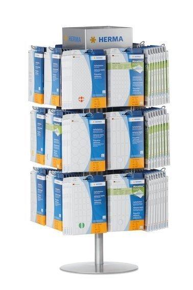 HERMA 7607 Thekenständer für Vielzwecketiketten in Büropackungen