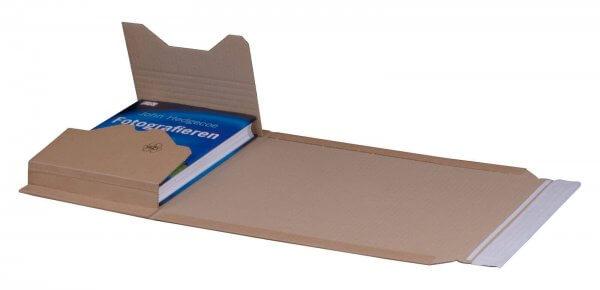 Buchversandverpackung 274 x 191 x 80 mm DIN B5