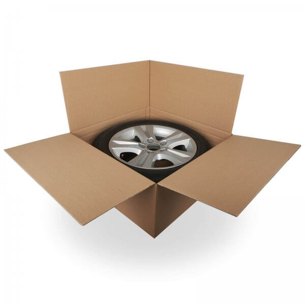 Reifenkarton Komplettrad für 15-19 Zoll Felge 66 x 66 x 30 cm (2-wellig)