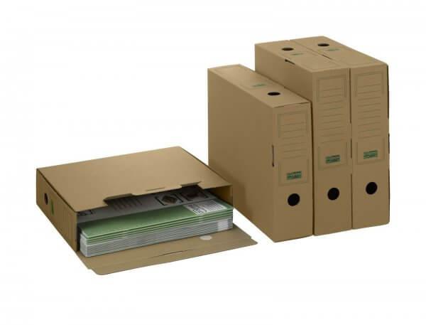 PREMIUM Ablagebox 315 x 76 x 260 mm Braun