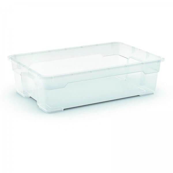 Aufbewahrungsbox 25 Liter Transparent