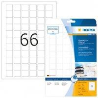 HERMA 8831 Inkjet-Etiketten A4 254x254 mm weiß Papier matt 1650 Stück