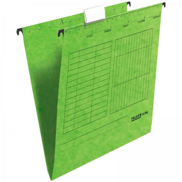 Hängemappe UniReg DIN A4 aus Manilakarton Grün