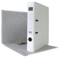 DIN A4 Aktenordner 5 cm PP Kunststoff Weiß