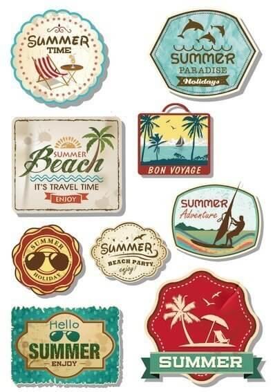 HERMA 3172 10x Sticker MAGIC Holiday Folie