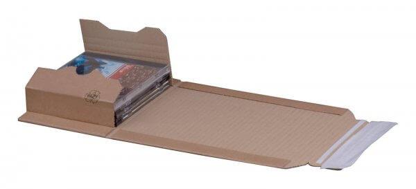 Buchversandverpackung 147 x 129 x 55 mm CD