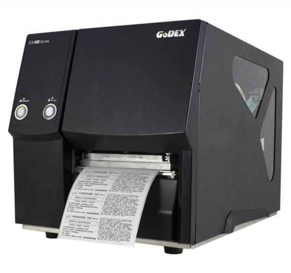 GoDEX Industriedrucker ZX430 300 dpi USB LAN seriell