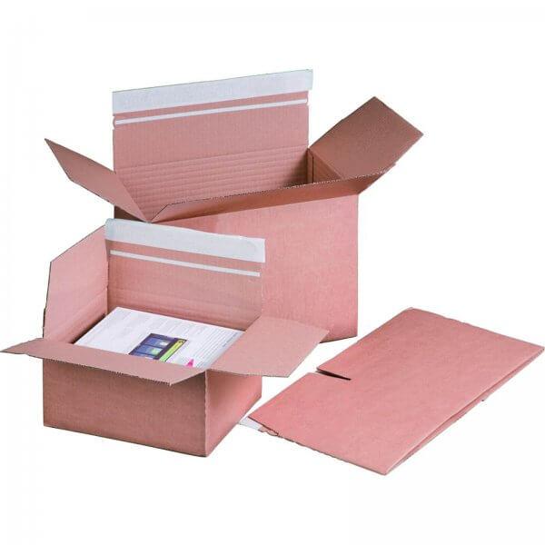 Versandkarton Automatikboden 230x165x50-115mm DIN A5+