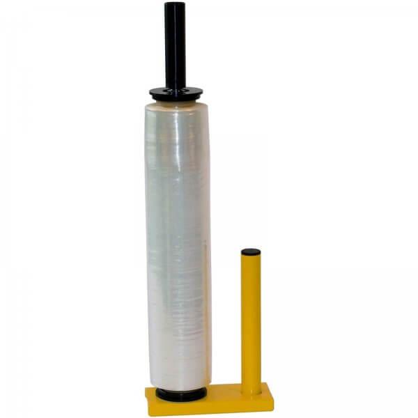 Stretchfolien-Abroller aus Metall für 400 bis 500 mm Rollenbreite