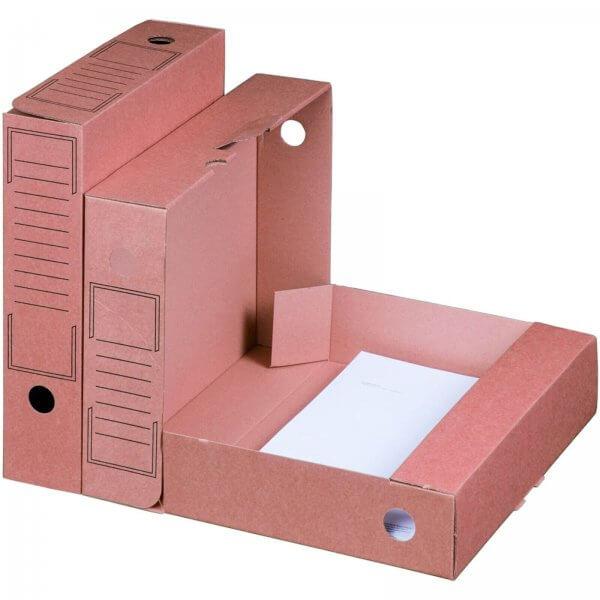 Archiv-Ablagebox 315 x 65 x 233 mm Braun