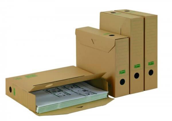 PREMIUM Ablagebox 315 x 65 x 233 mm Braun