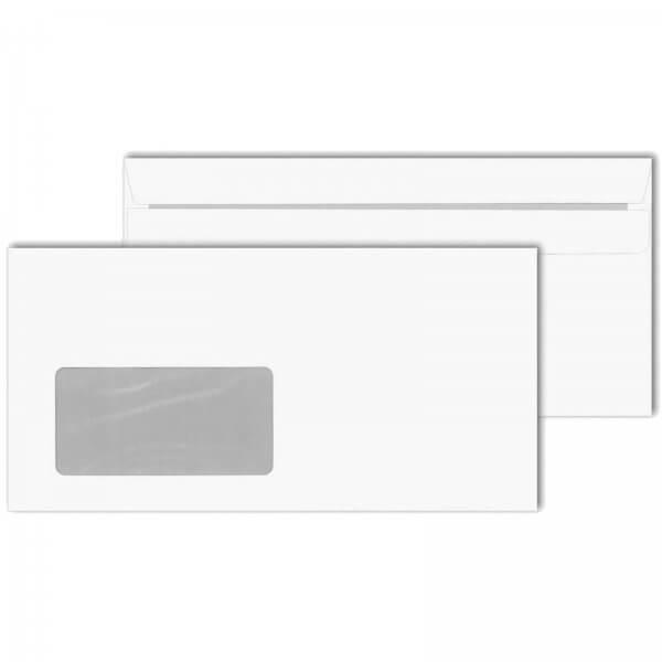 Briefumschläge DIN Lang 75 g/m² mit Fenster Selbstklebend