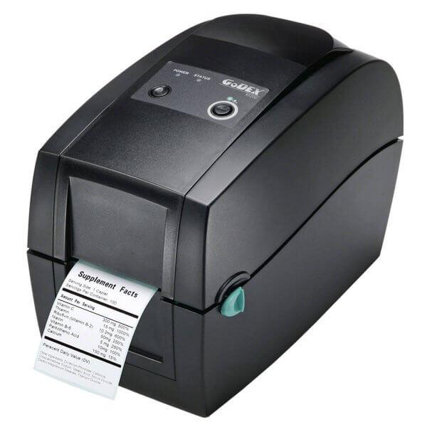 GoDEX Desktopdrucker RT200 203 dpi USB LAN seriell