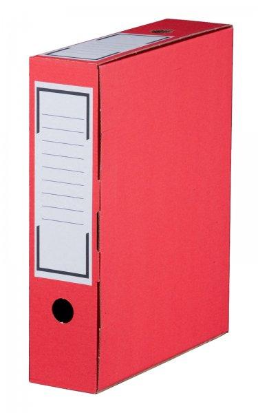 Archiv-Ablagebox 315 x 76 x 260 mm Rot