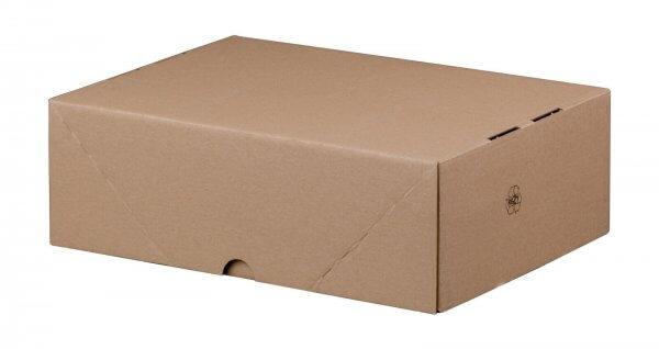 Stülpdeckelkarton 305 x 215 x 100 mm DIN A4 höhenvariable