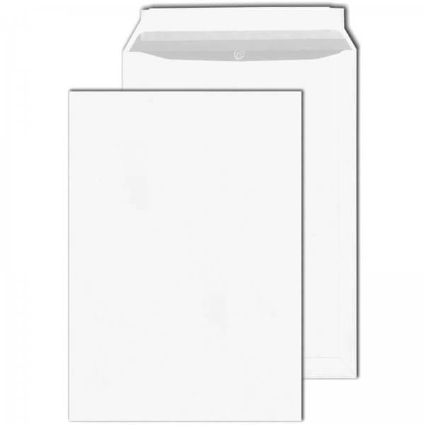 Versandtaschen DIN C4 120 g/m² Haftklebend Weiss
