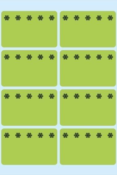 HERMA 3775 Tiefkühletiketten grün 26x40 mm Eiskristalle 480 Stück
