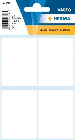 HERMA 3755 Vielzwecketiketten 40x55 mm weiß Papier matt 280 Stück