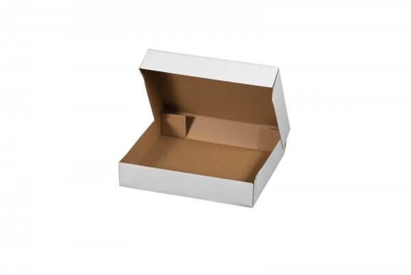 Klappdeckelschachtel mit Stülpdeckel 400 x 300 x 80 mm