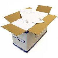 Luftpolsterversandtasche weiß 7/G 230 x 340 mm