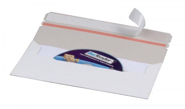 CD-Versandtasche DIN lang aus Vollpappe