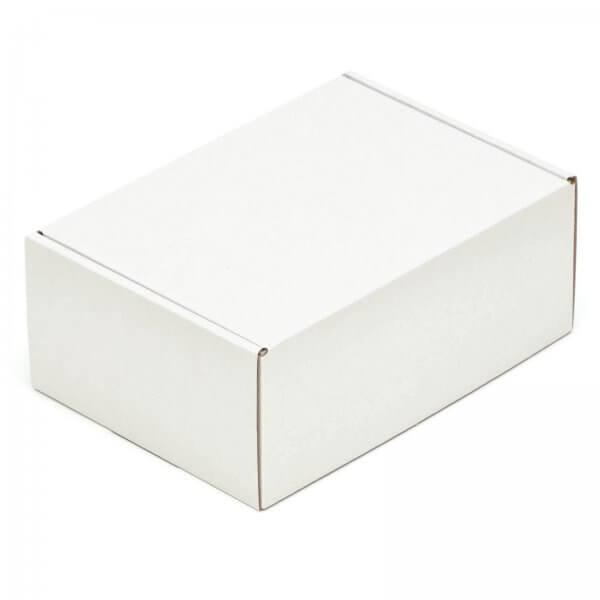 Faltschachtel 220 x 160 x 90 mm Weiß einwellige Kartons