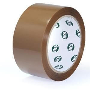 PP Packband 50 mm IKS Premium Leise (braun)